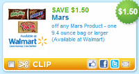 mars candy coupon