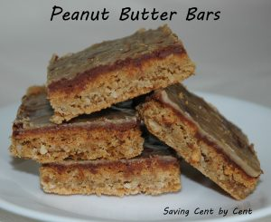 Peanut Butter Bars 1