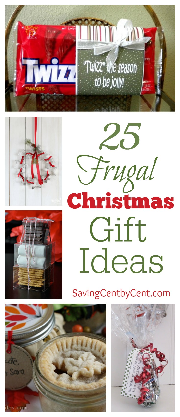 25 Frugal Christmas Gift Ideas (Part 1) - Saving Cent by Cent