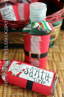 hand sanitizer santa-tizer