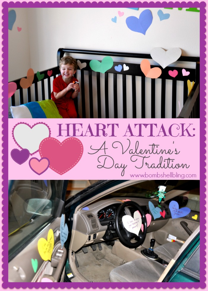 valentines - heart attack