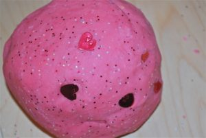 valentines - play dough