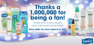 Suave Sweepstakes