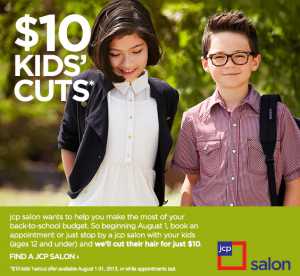 jcpenney $10 hair cut