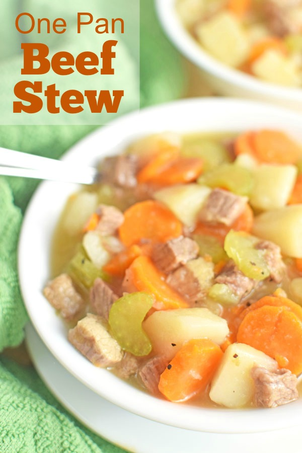 One Pan Beef Stew