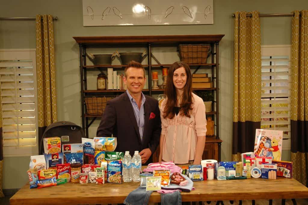ABC4 TV How to Build a 72-Hour Kit on a Budget