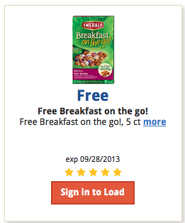 free emerald breakfast