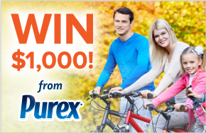 purex step into fall sweepstakes