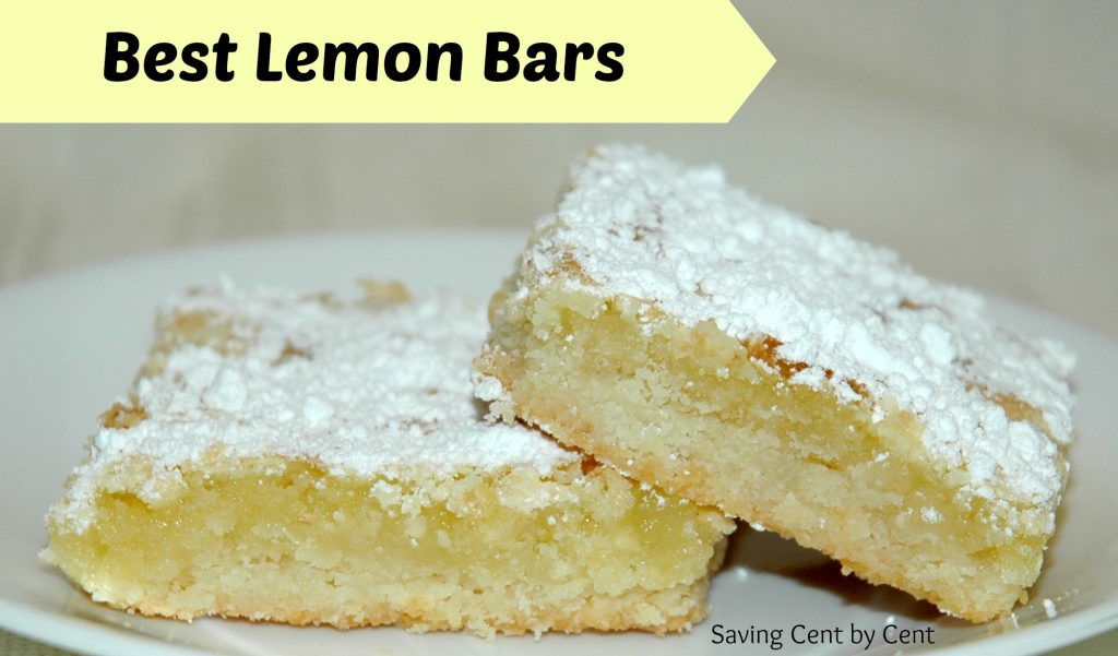 Best Lemon Bars
