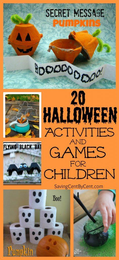 20 Halloween Activities and Games for Children