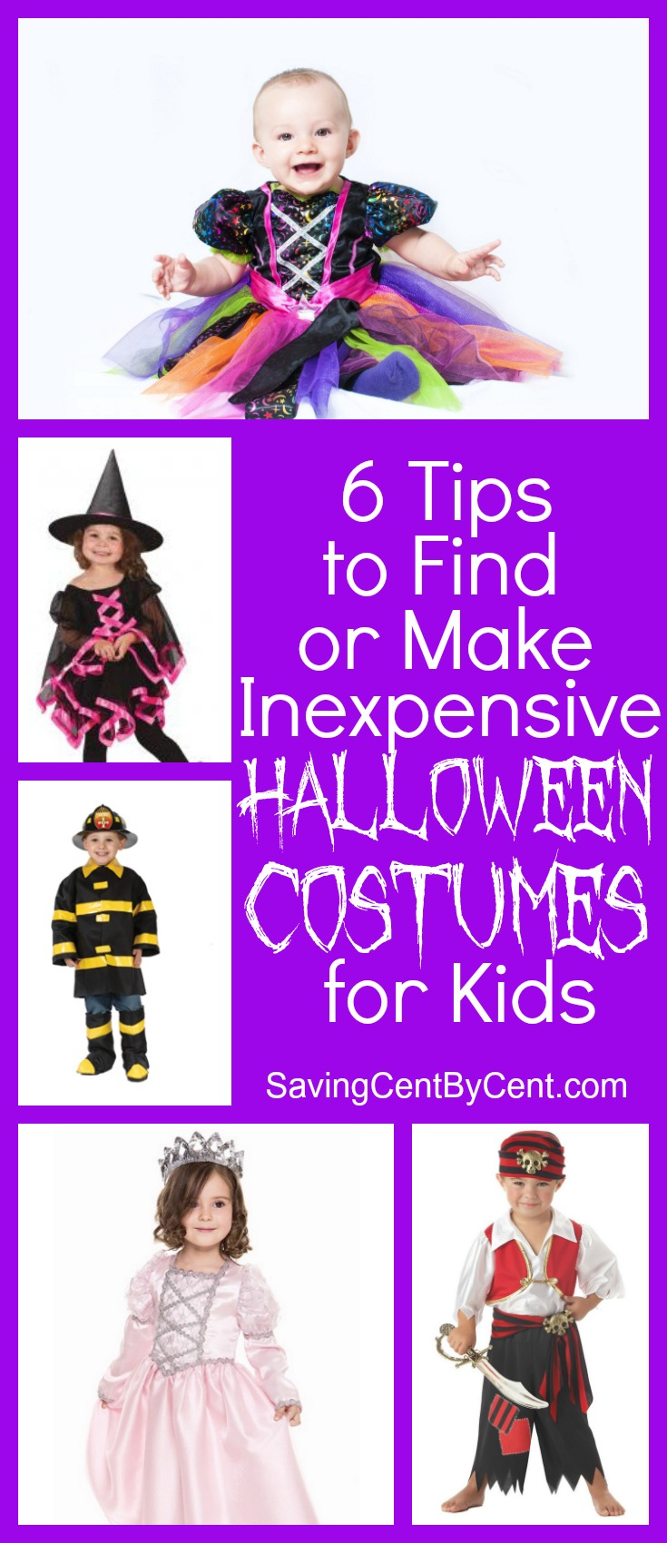 6 Tips to Find or Make Inexpensive Halloween Costumes for Kids