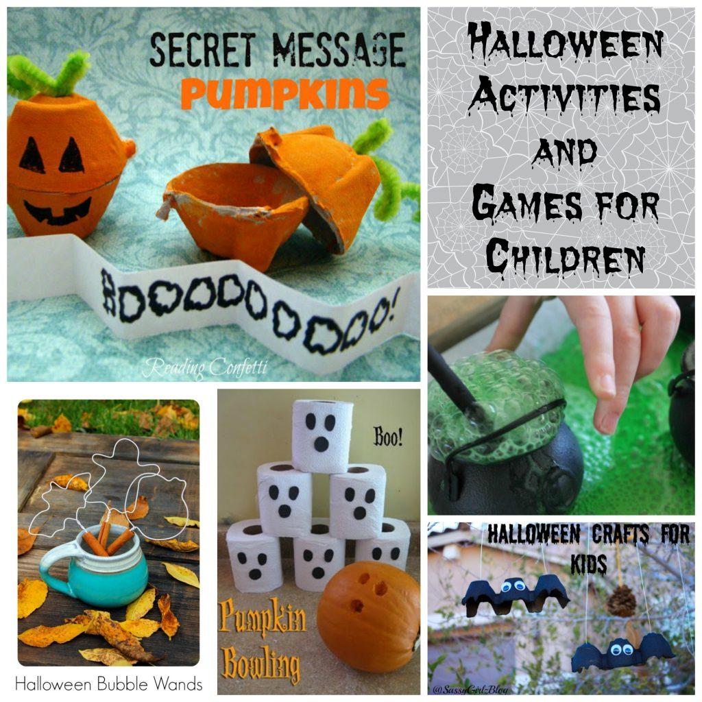 Halloween Game and Activities for Children