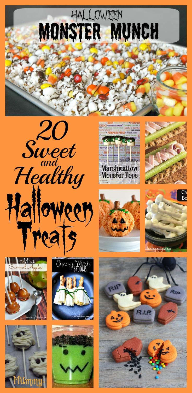 20 Sweet & Healthy Halloween Treats