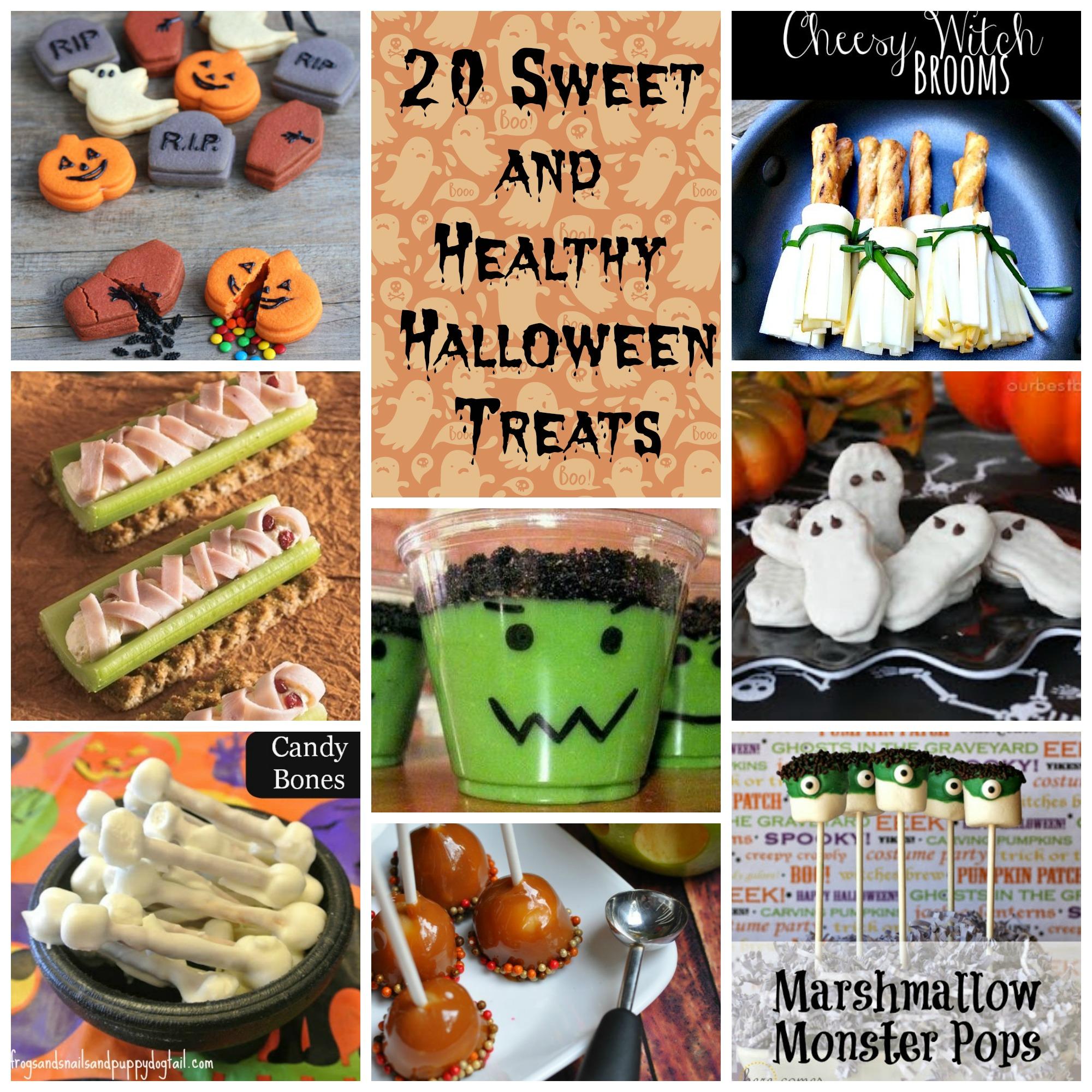 Sweet & Healthy Halloween Treats