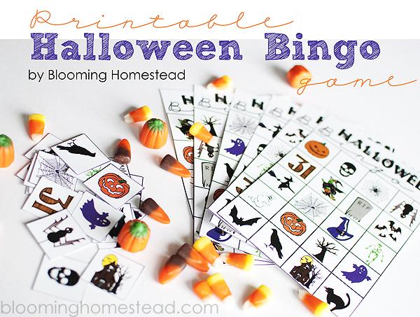 halloween activities for kids - halloween bingo 2