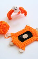 halloween activities for kids - spider craft