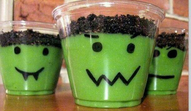 halloween treats - frankenstein