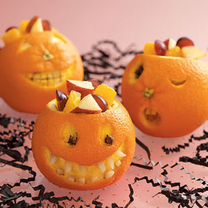 halloween treats - oranges