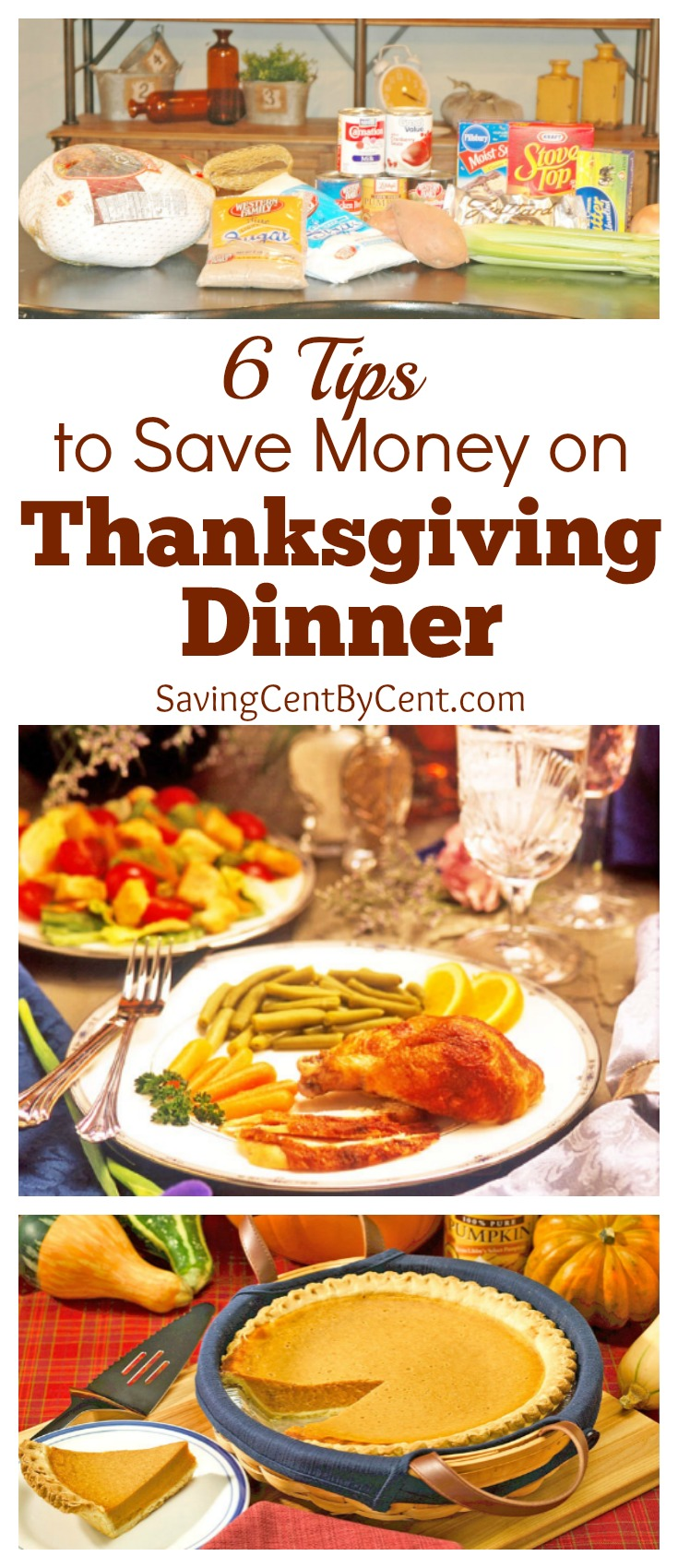 6 Tips to Save Money on Thanksgiving Dinner
