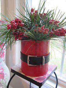 frugal christmas - santa can