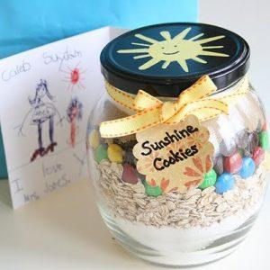 frugal christmas - sunshine cookies