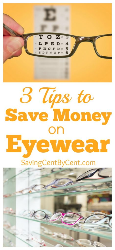 3 Tips to Save Money on Eyewear