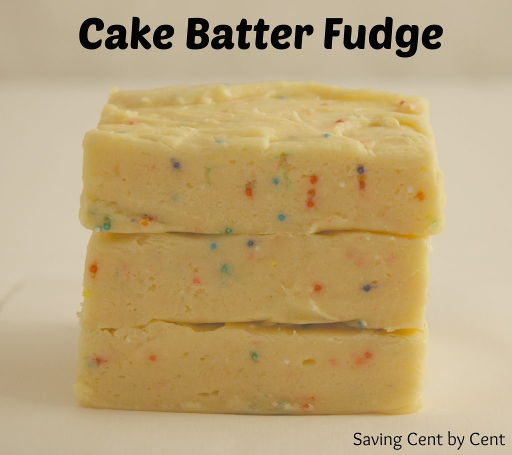 Cake Batter Fudge - Final