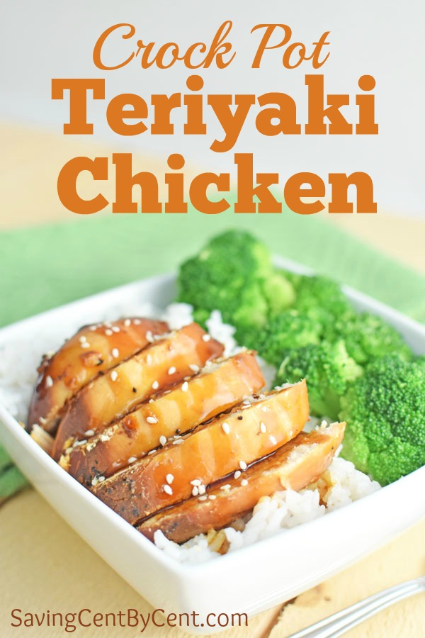 Crock Pot Teriyaki Chicken and Rice