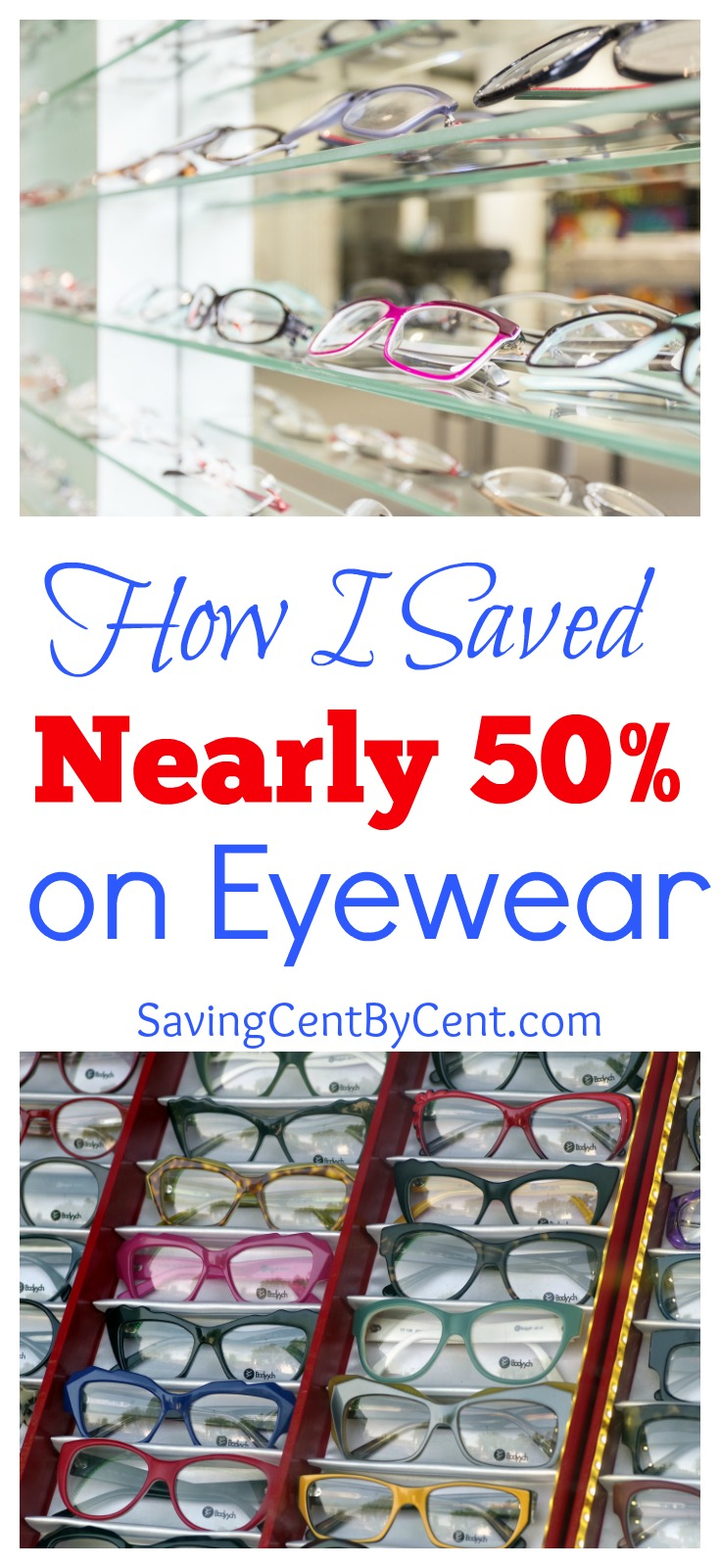 Save Money on Eyewear