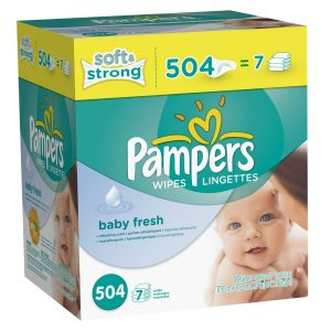 amazon pampers wipes