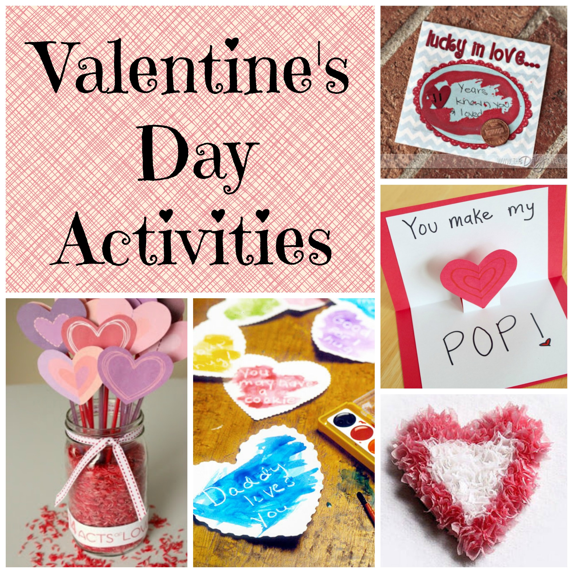 valentine's day activities and ideas - saving centcent, Ideas