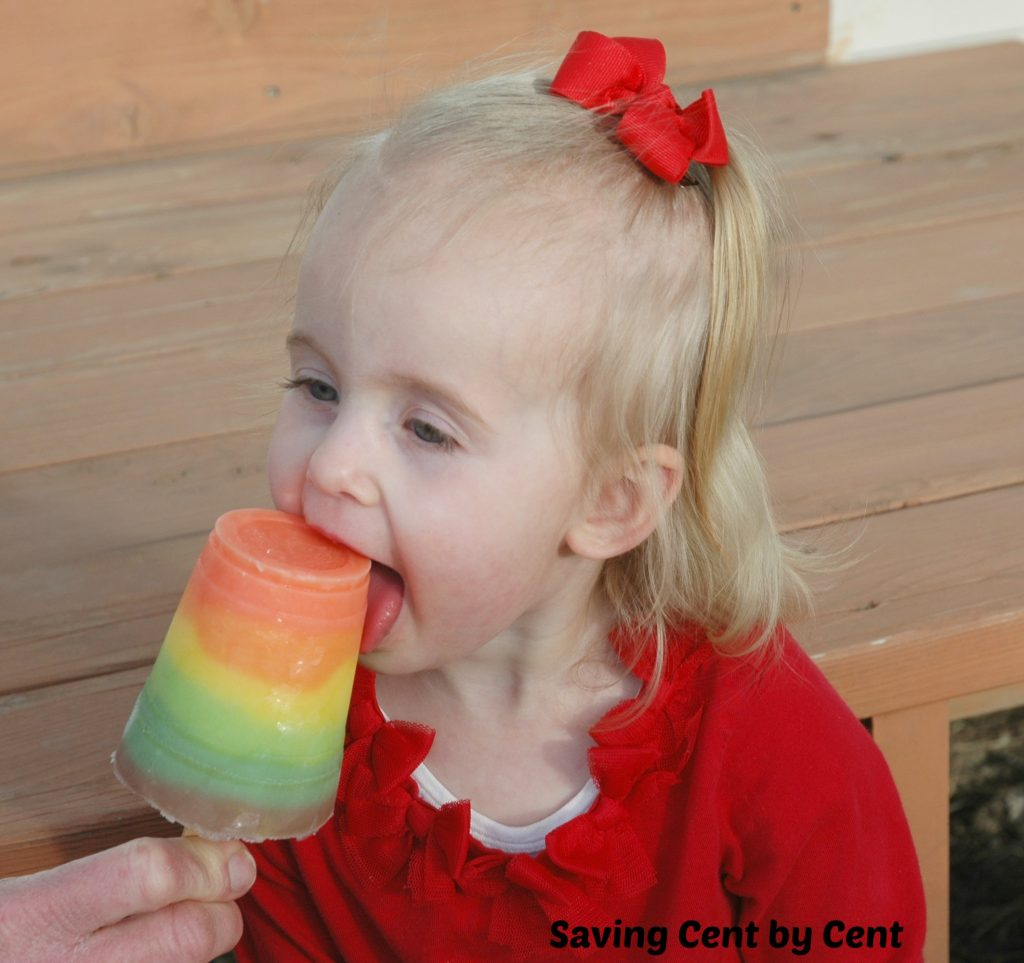 Rainbow Pudding Pops 3