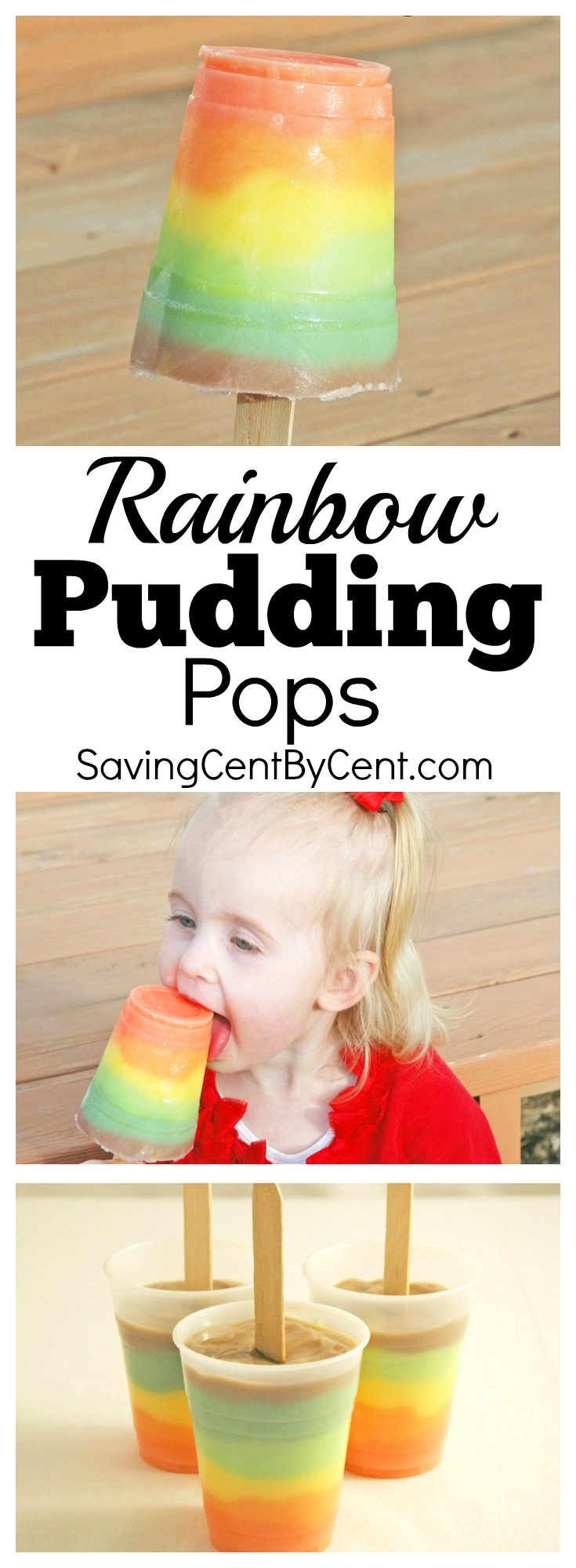 rainbow pudding pops summer dessert activity
