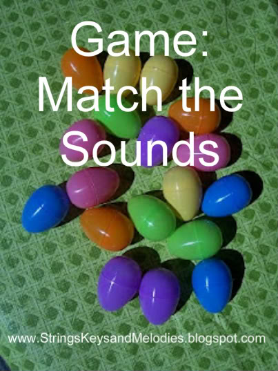 easter - match sounds