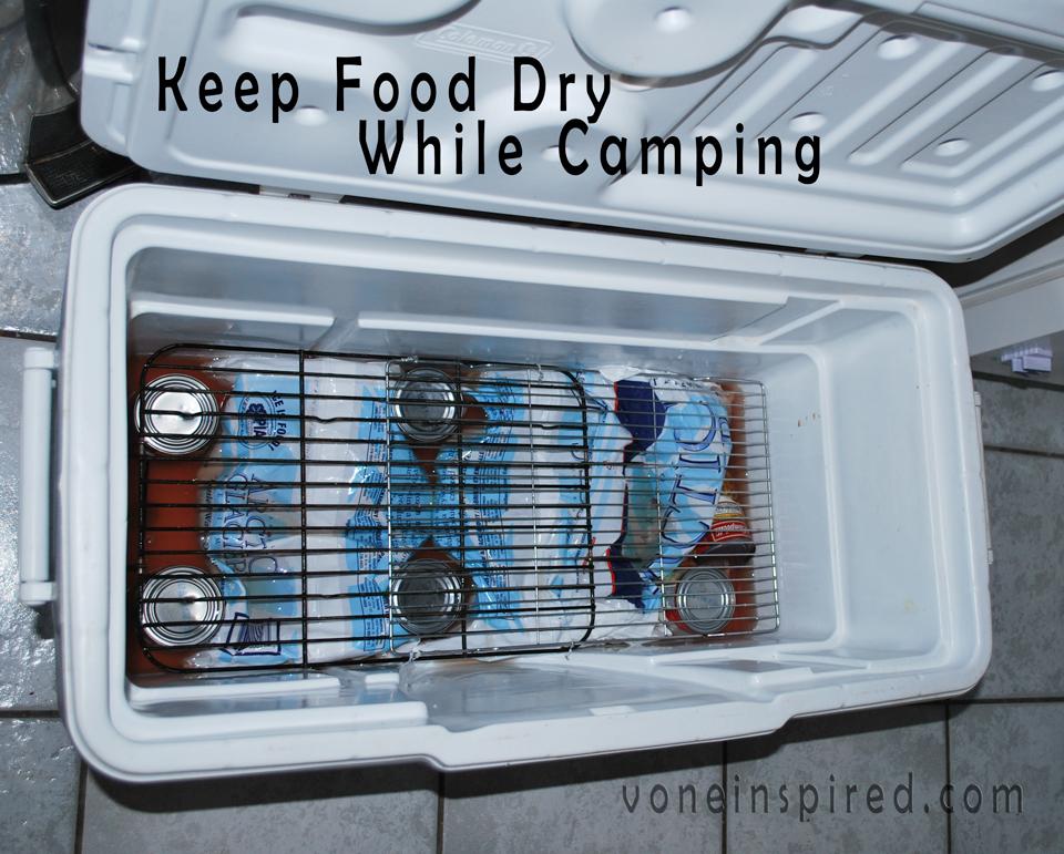 Camping - Keep Food Dry