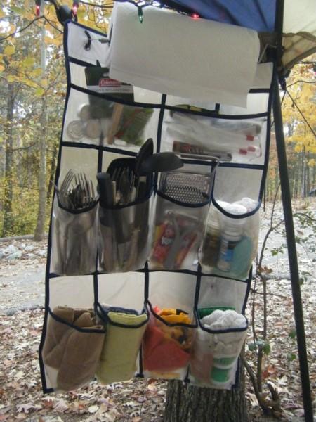 Camping - Shoe organizer