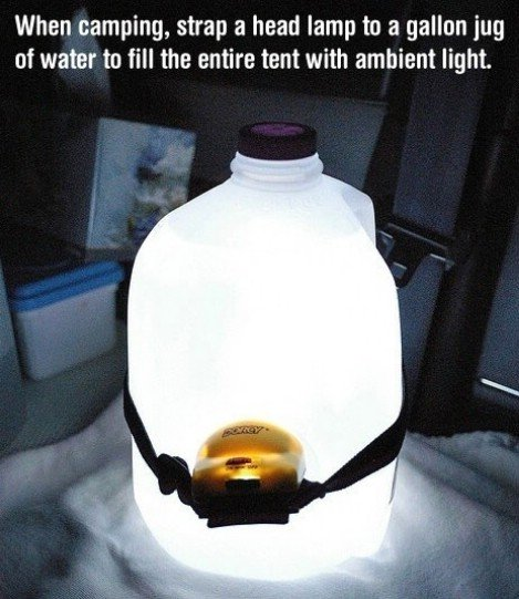 Camping - portable light