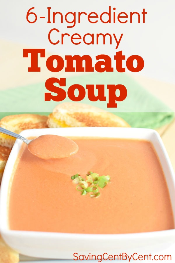 Easy and Fast Creamy Tomato Soup