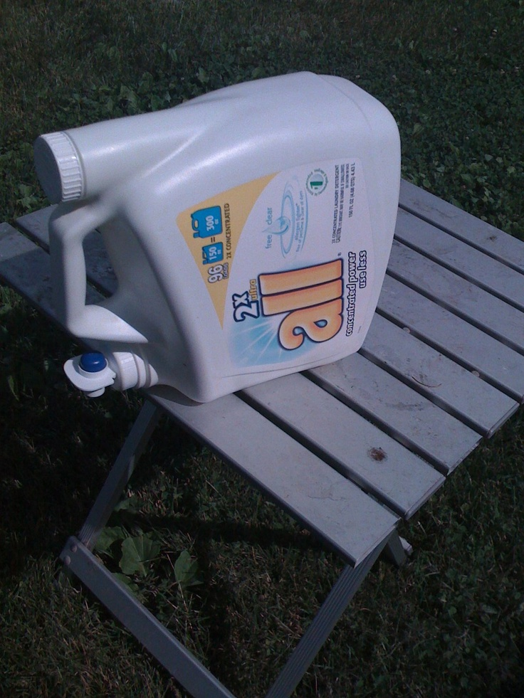 camping - laundry detergent washer dispense
