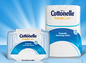 cottonelle cleansing cloths