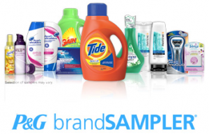 p&g brand sample