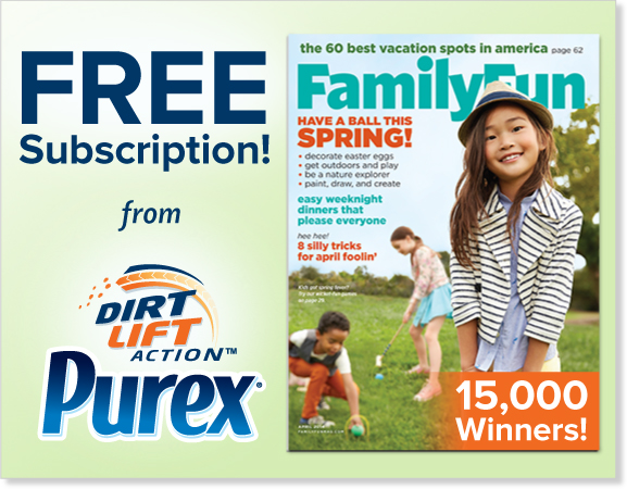 purex family fun magazine