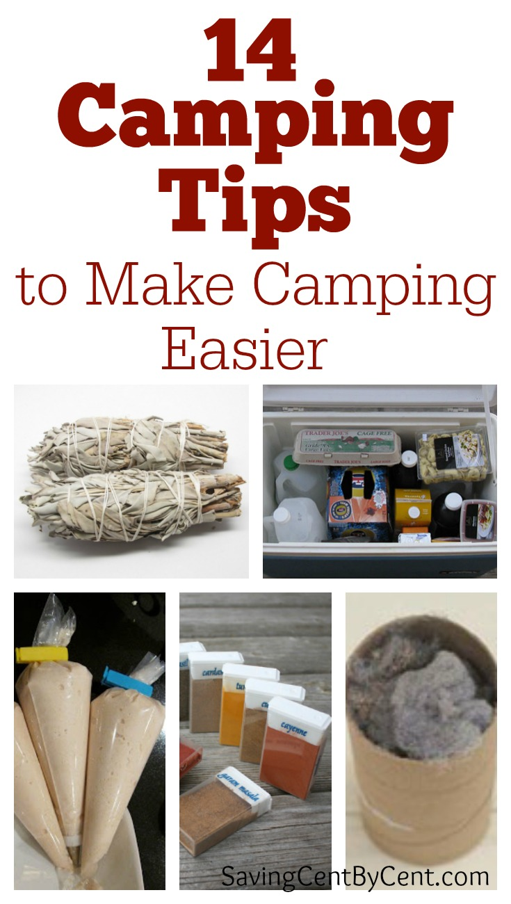 14 Camping Tips to Make Camping Easier
