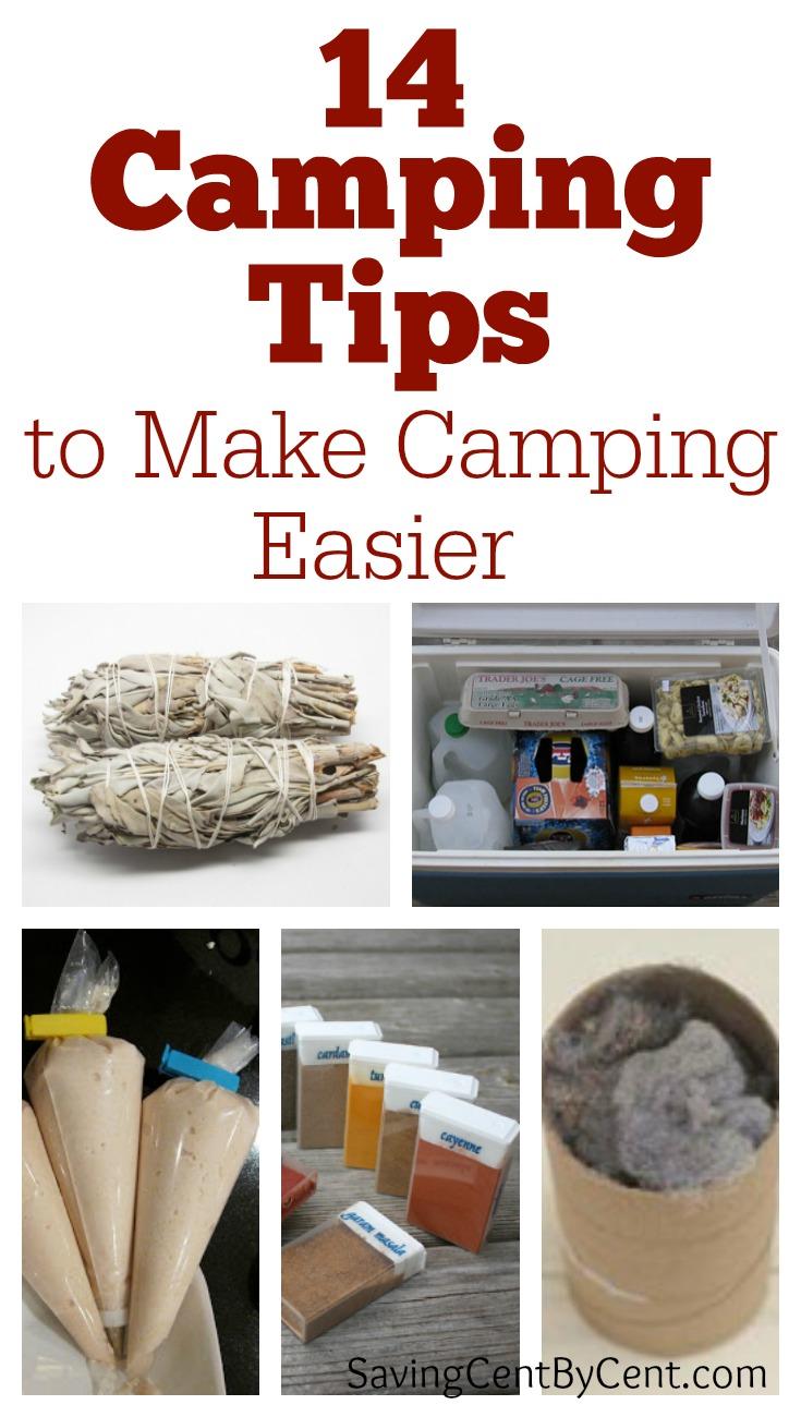 14 Camping Tips to Make Camping Easier