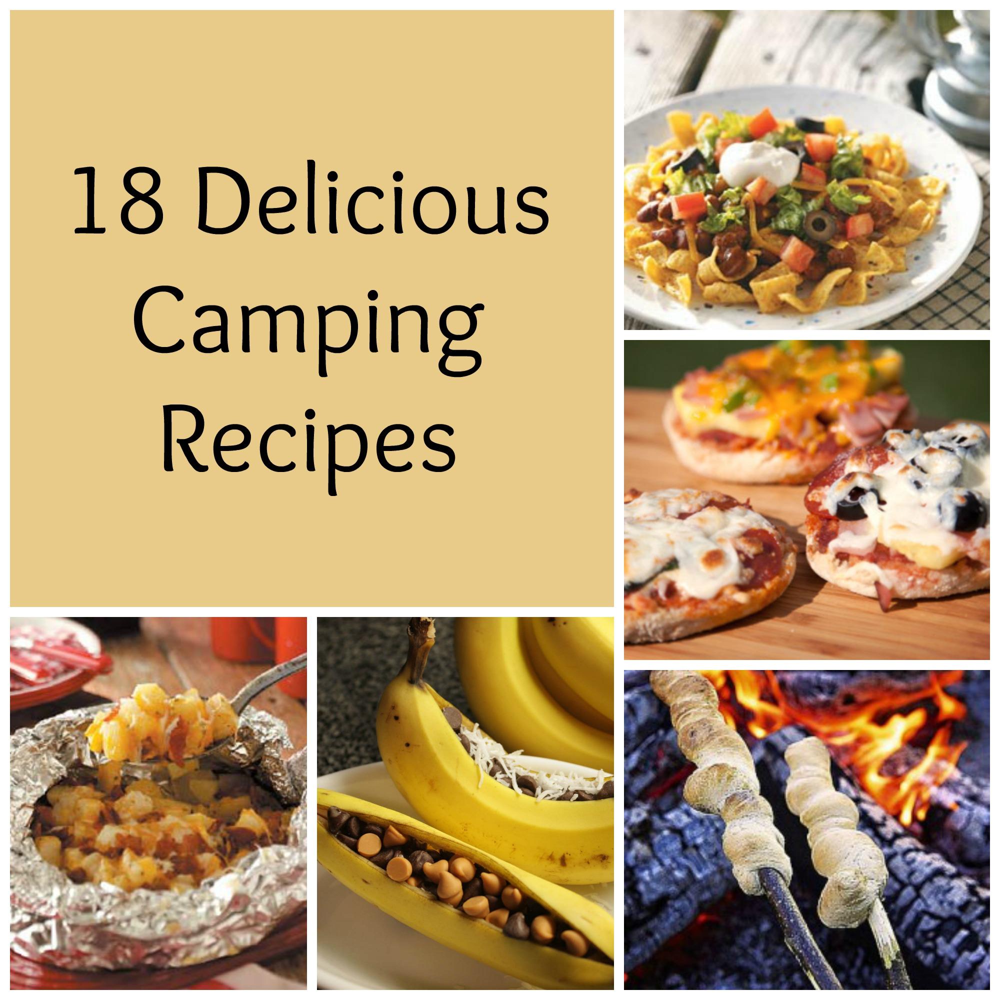 18 Delicious Camping Recipes