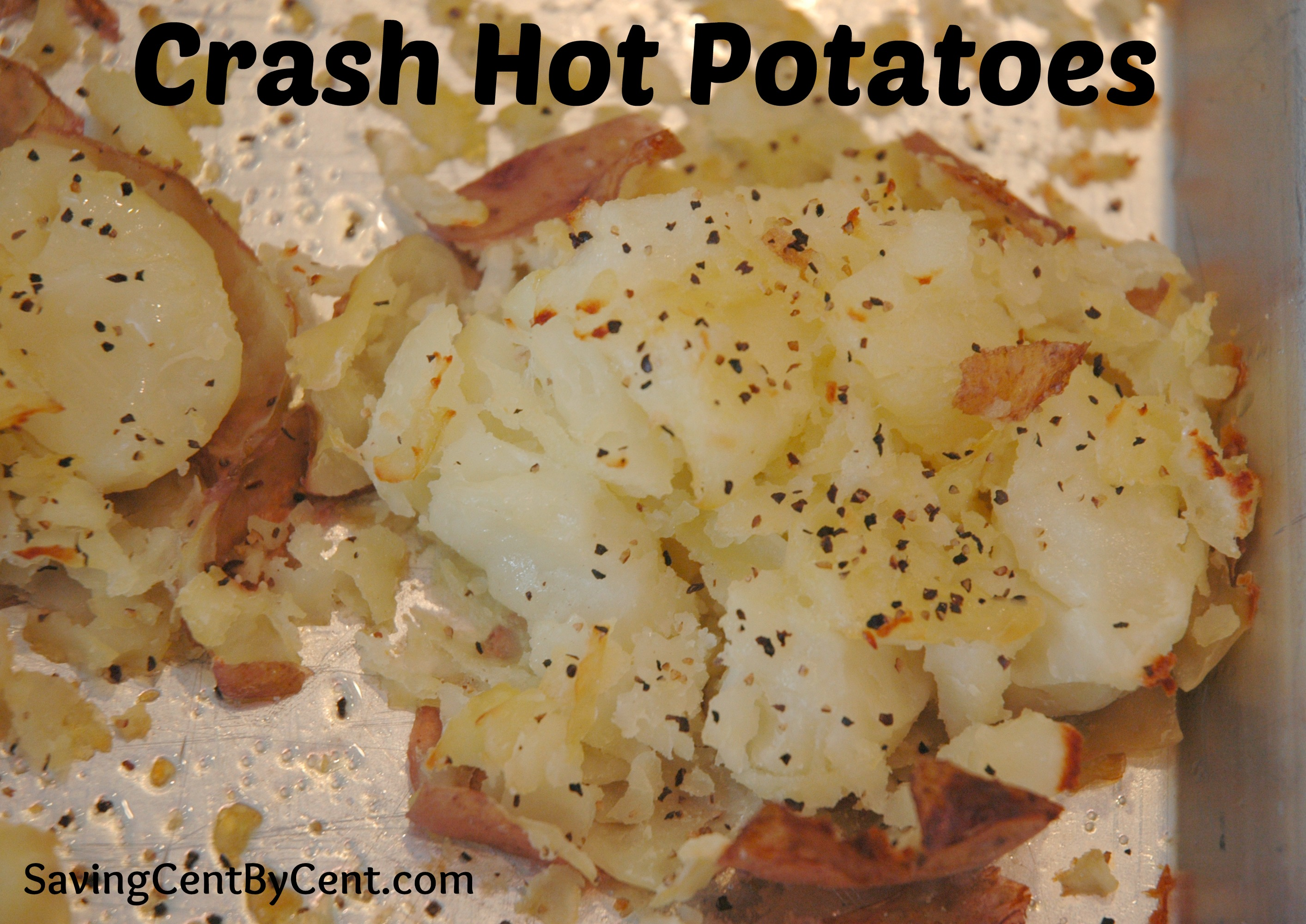These Crash Hot Potatoes have a slight twist to a baked potato and are ...