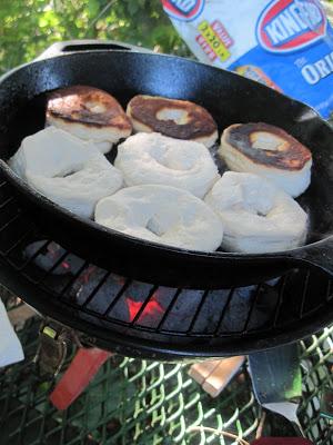 camping food - donuts