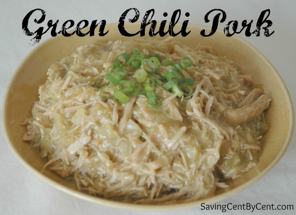 Green Chili Pork