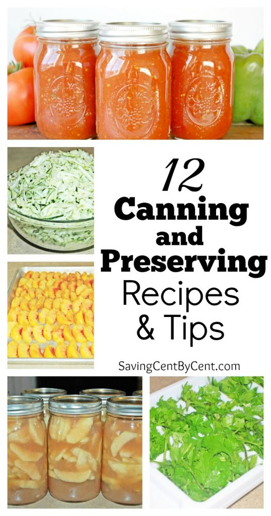 12 Canning and Preserving Recipes & Tips