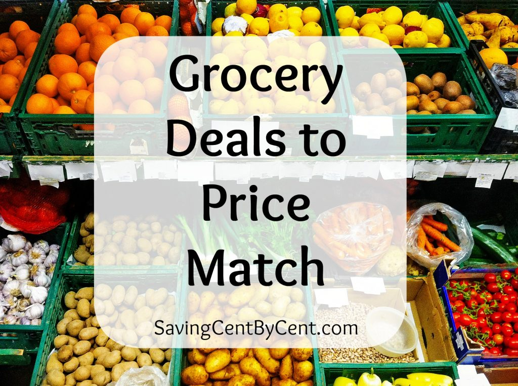 Grocery Deals to Price Match